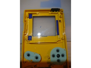 Game Boy Color Backlight Mod Spacers (Freckleshack/McWill)