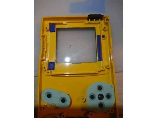 Game Boy Color Backlight Mod Spacers (Freckleshack/McWill