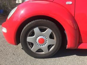 VW New Beetle Wheel Cap