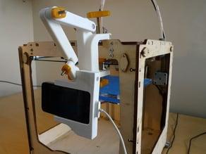 Universal iPhone camera mount