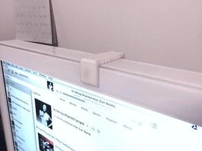 Anti-NSA privacy device (sliding webcam cover for 2007 iMac)