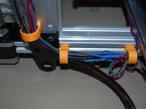 Maker Slide / Hadron Ord Bot Snap on Wire Holder / Clamp
