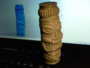 Tiki Statue Mold for Manufacturing