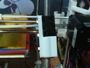 LED light strip holder for Prusa Mendel