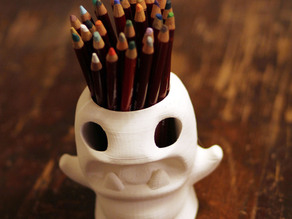 pencilpot-monster