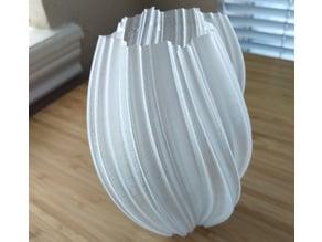 Mandelbrot Twist Vase