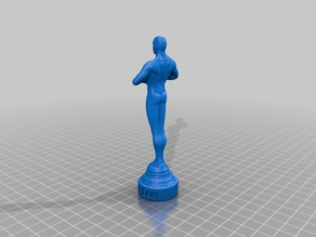 My Customized OSCAR-Statue with  text engraved f6