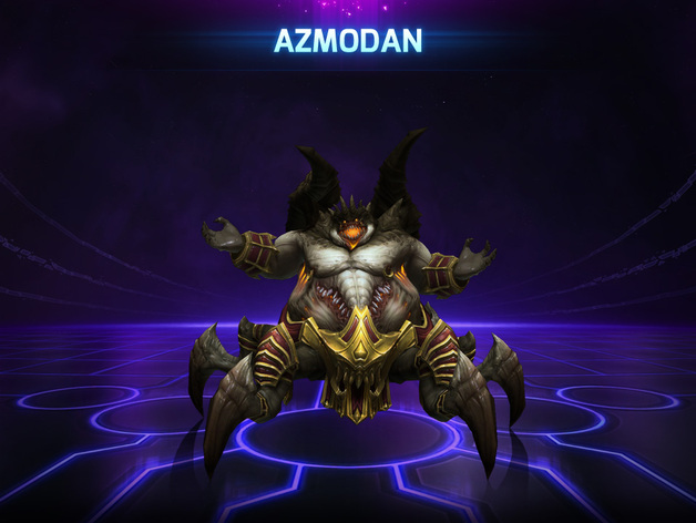 Azmodan Heroes Of The Storm By Hannemaster Thingiverse The best site dedicated to analyzing heroes of the storm replay files. azmodan heroes of the storm by