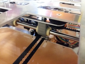 "K8200/3Drag BEARING CLAMP AXE Y MOD FOR ""IGUS RJM-01-08"""