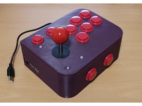 Ultimate Retropie Joystick Controller -- Remix