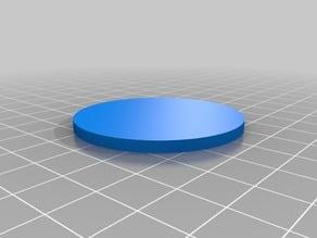 円形(Circle)3Dデータ