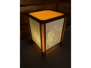 Custom Personalized Lamp Light Lithophane