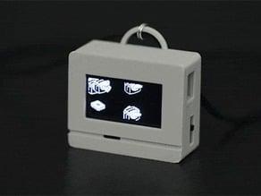 Animated Flying Toaster OLED Jewelry