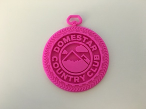 DomeStar Country Club Medallion