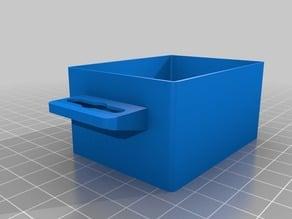 Kleinteilebox, little box for magazine, H,B,T: 36x50x66mm