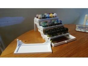 Beevus' Miniature Paint Organiser