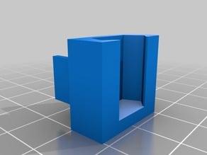 Alternative Ender 3 End Clip for Filament Guide