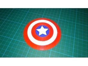 Captain America shield.