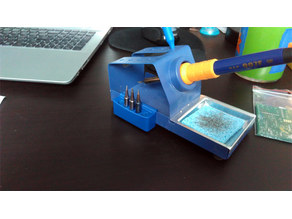 Solder iron tip holder