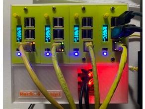 The Ultimate Rack for Raspberry Pi - Rack-4-Raspi