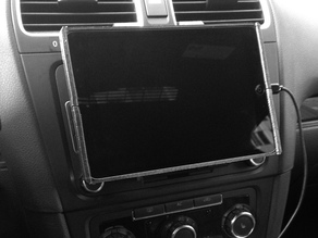 VW Golf / GTI iPad Mini Mount v7