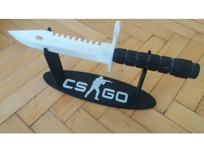 CS:GO Bayonet M9 stand