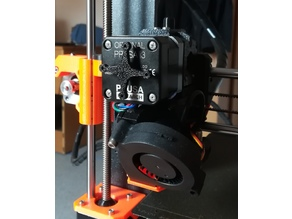 Extruder motor rotation indicator (Prusa i3 MK3) - no glue
