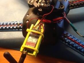 Video transmitter bracket for IRIS drone