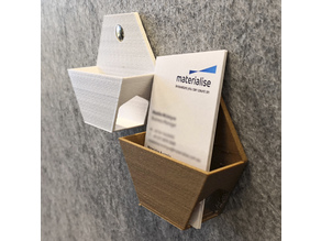 Hex Business Card Holder Tiles