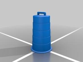 14th scale traffic barrel