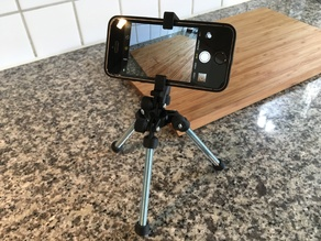 Tripod for iPhone 4(S)/5(S)/SE