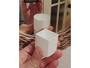 Sugihara's Circle/Square Optical Illusion better quality
