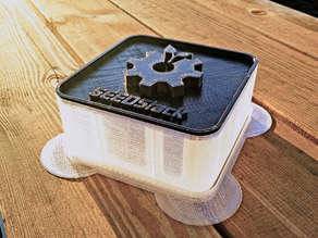 SEEDStack - Open 3D printable seed/sprout system