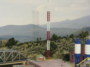 HO Scale Broadcast Tower and Office