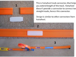 Hotwheel Track Connector