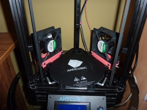 Anycubic Kossel additional cooler holders
