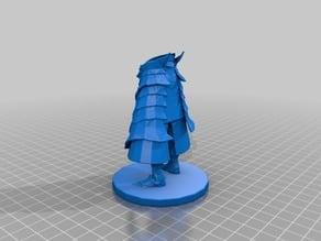 Dragon Slayer Ornstein - Dark Souls Sliced For Printing