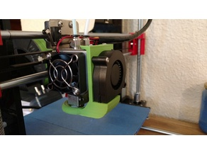 Fan duct for Zonestar (dual extrusion)