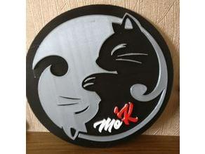 Cat yang Wall Art