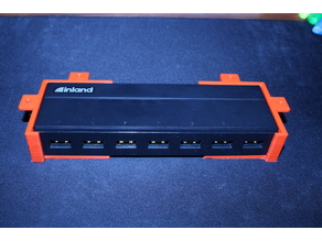 Inland 149617 USB Hub Under Desk Bracket