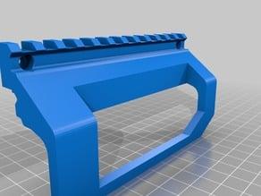 xZEUS 2 - Stencil Rail Riser