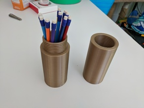 Pencil Case / Screw Capsule