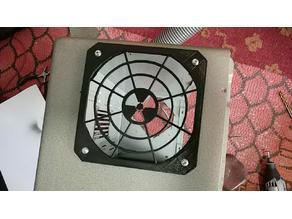 Nuclear Fan Grille 130mm (for 120mm Fans)