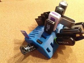 USB flash drive SD Card holder stand