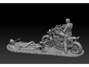 Daryl Dixon Diorama