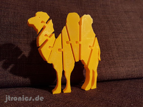 Flexi Articulated Camel Full