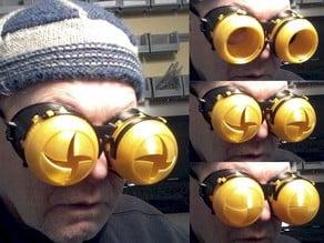Blinking Iris Goggles