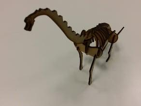 Lasercut Brachiosaurus
