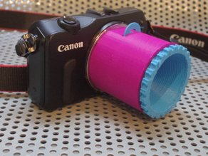 DIY EOS M Lens v1.3 (single/duo lens design)