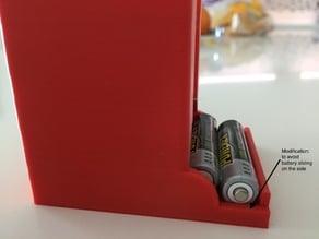 Battery dispenser AA & AAA